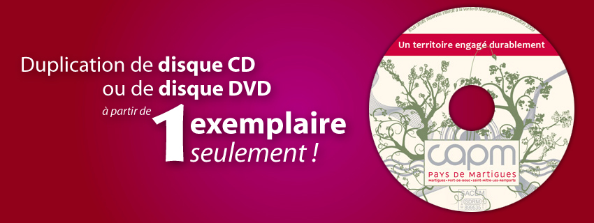duplication CD copie DVD