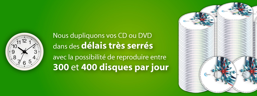 copie CD duplication DVD