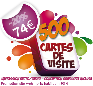 Promotion Imprimerie Cartes De Visite
